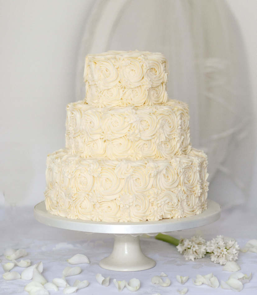 Buying Wedding Cakes  Buy online Wedding Cake Buttercream Wedding Cake