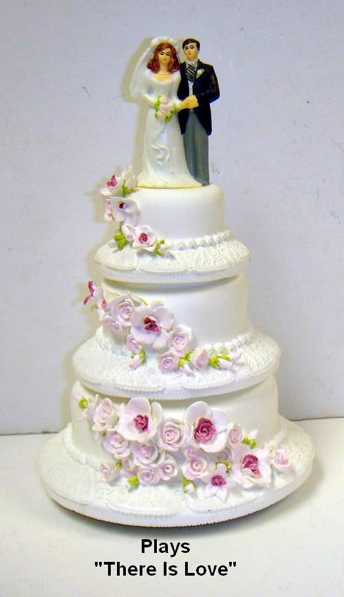 Buying Wedding Cakes  Buy Wholesale Musical Wedding Cake with Bride and Groom