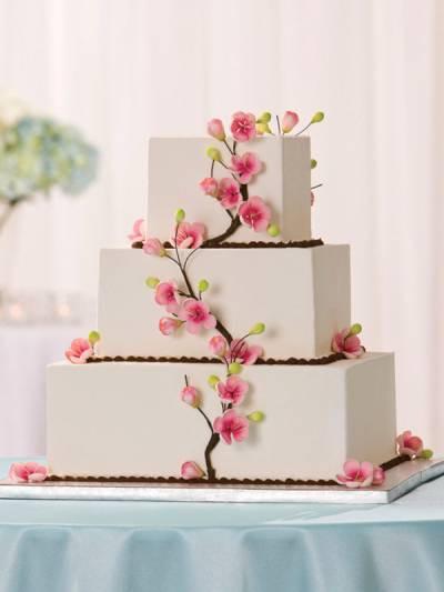 Buying Wedding Cakes  Buying A Grocery Store Wedding Cake