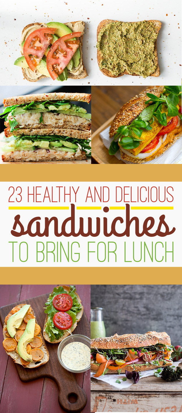 Buzzfeed Healthy Lunches  23 Healthy Lunch Sandwiches That Will Make You A Champion