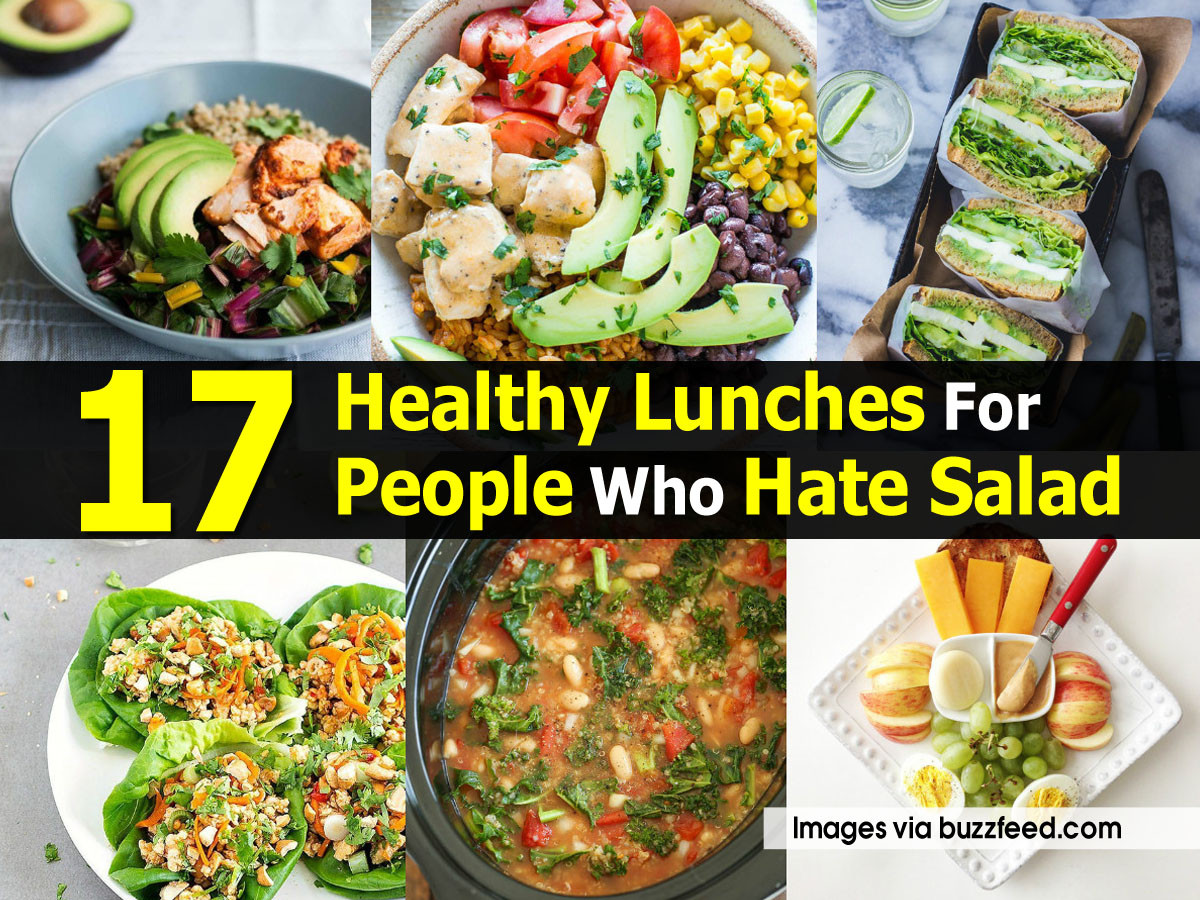Buzzfeed Healthy Lunches  17 Healthy Lunches For People Who Hate Salad