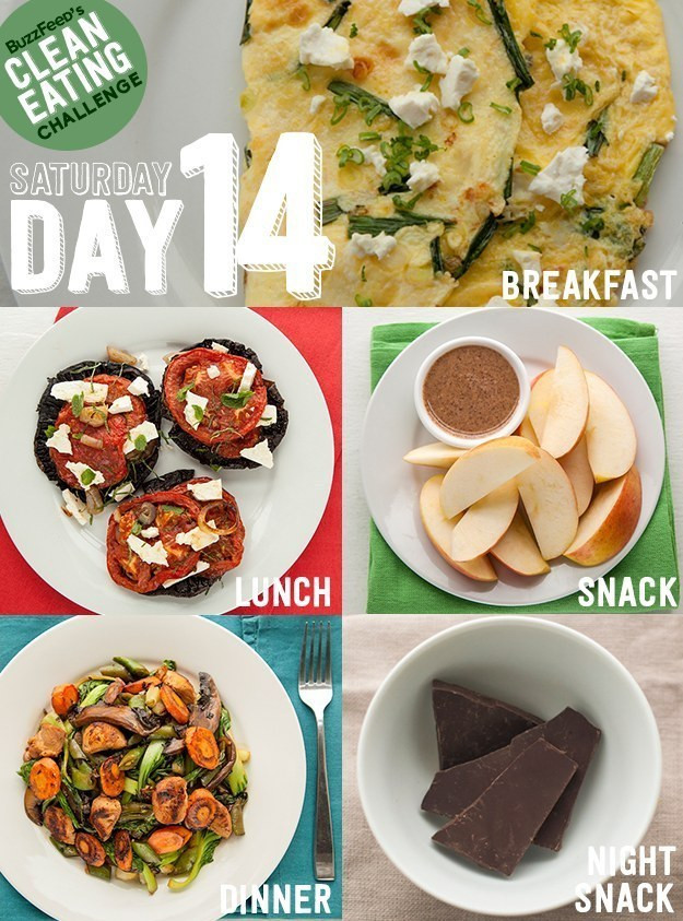 Buzzfeed Healthy Lunches  Take BuzzFeed s Clean Eating Challenge Feel Like A
