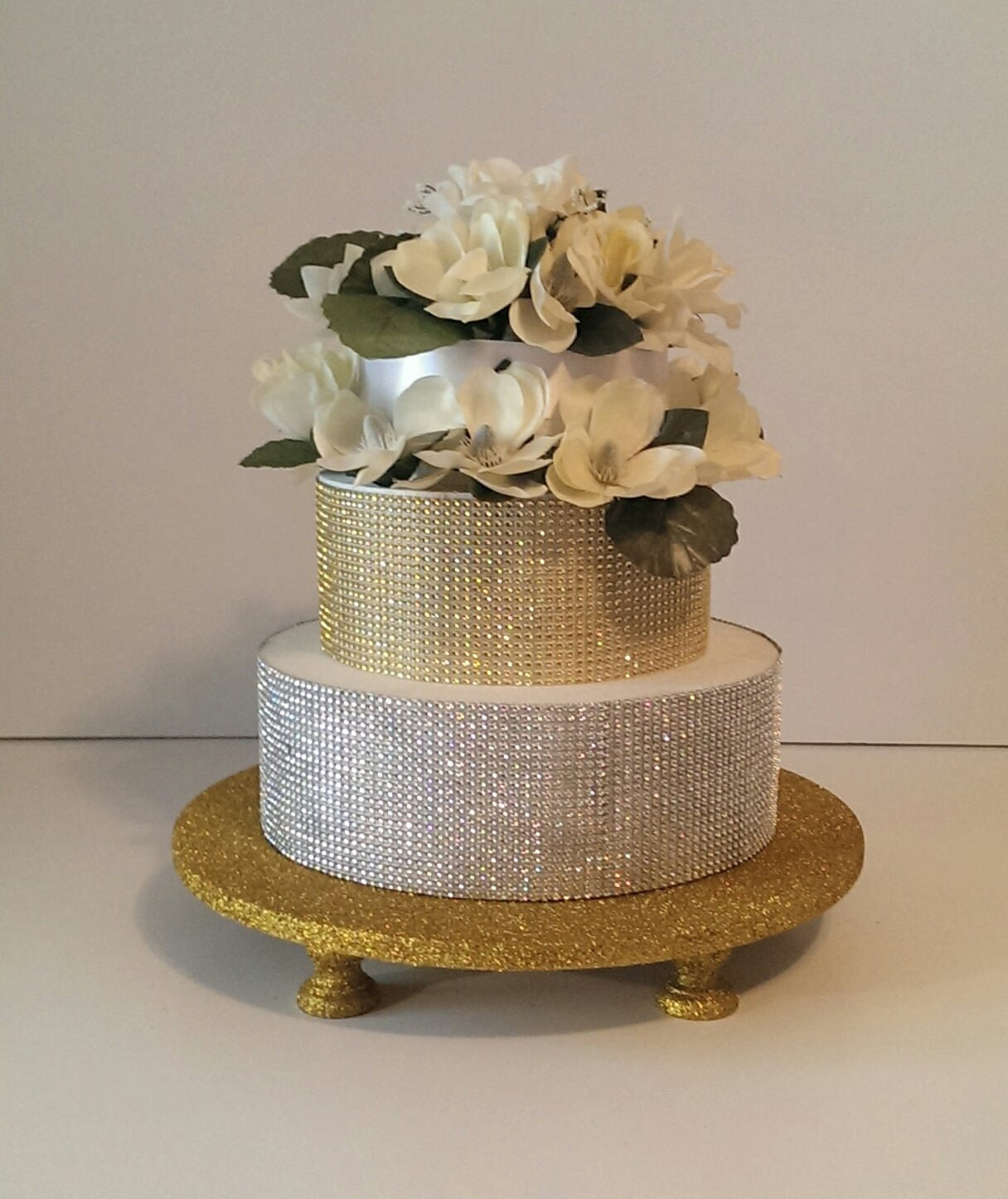 Cake Risers Wedding Cakes  Gold Glitter 16 Cake Stand Cake Riser with 5 by