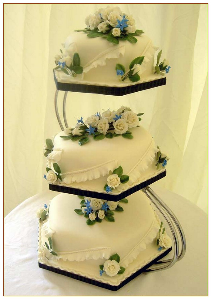 Cake Stands For Wedding Cakes  3 Tier Wedding Cake Stand Wedding and Bridal Inspiration
