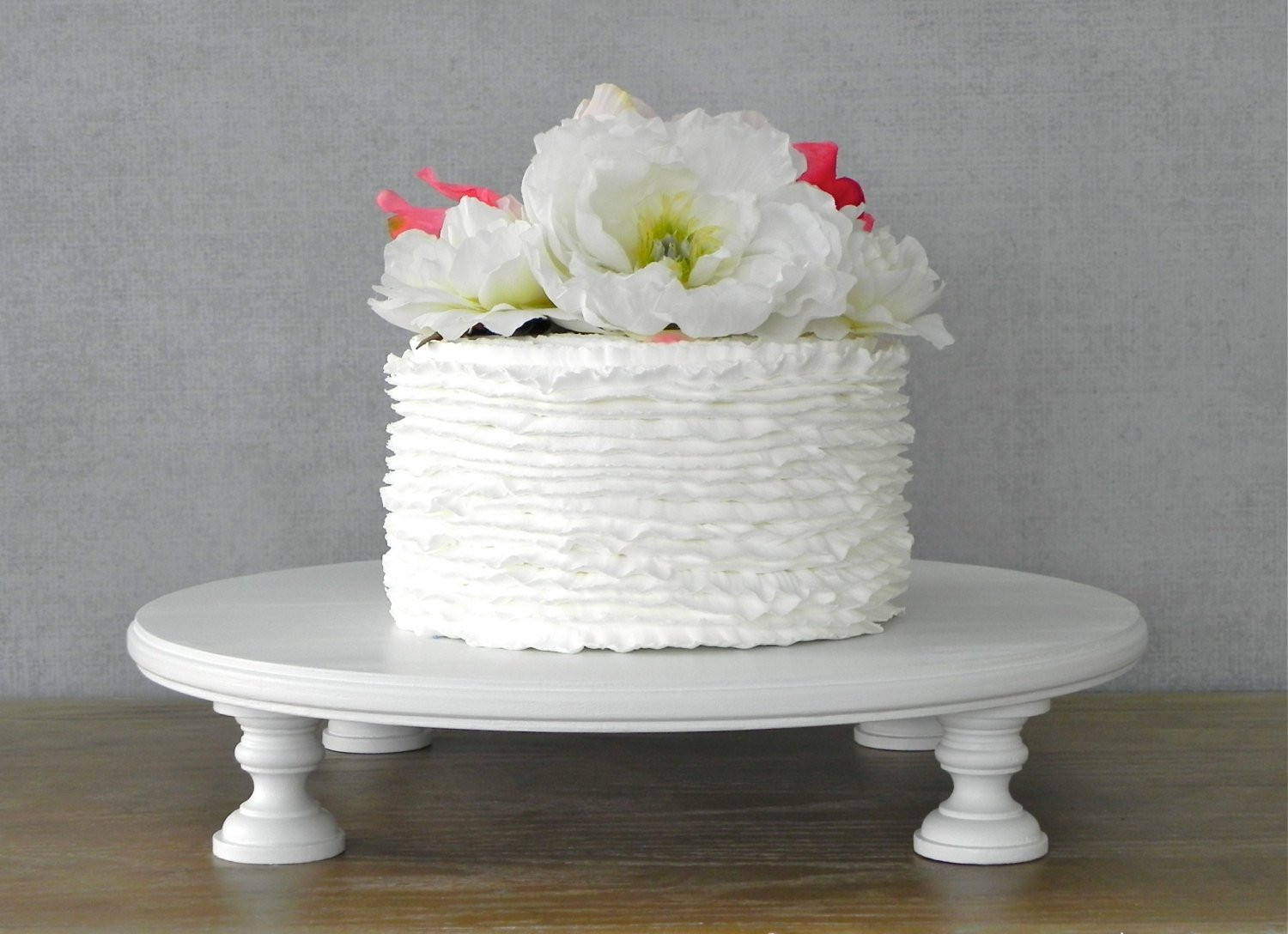 Cake Stands For Wedding Cakes  Cake Stand 14 Wedding Cake Stand Cupcake Round White