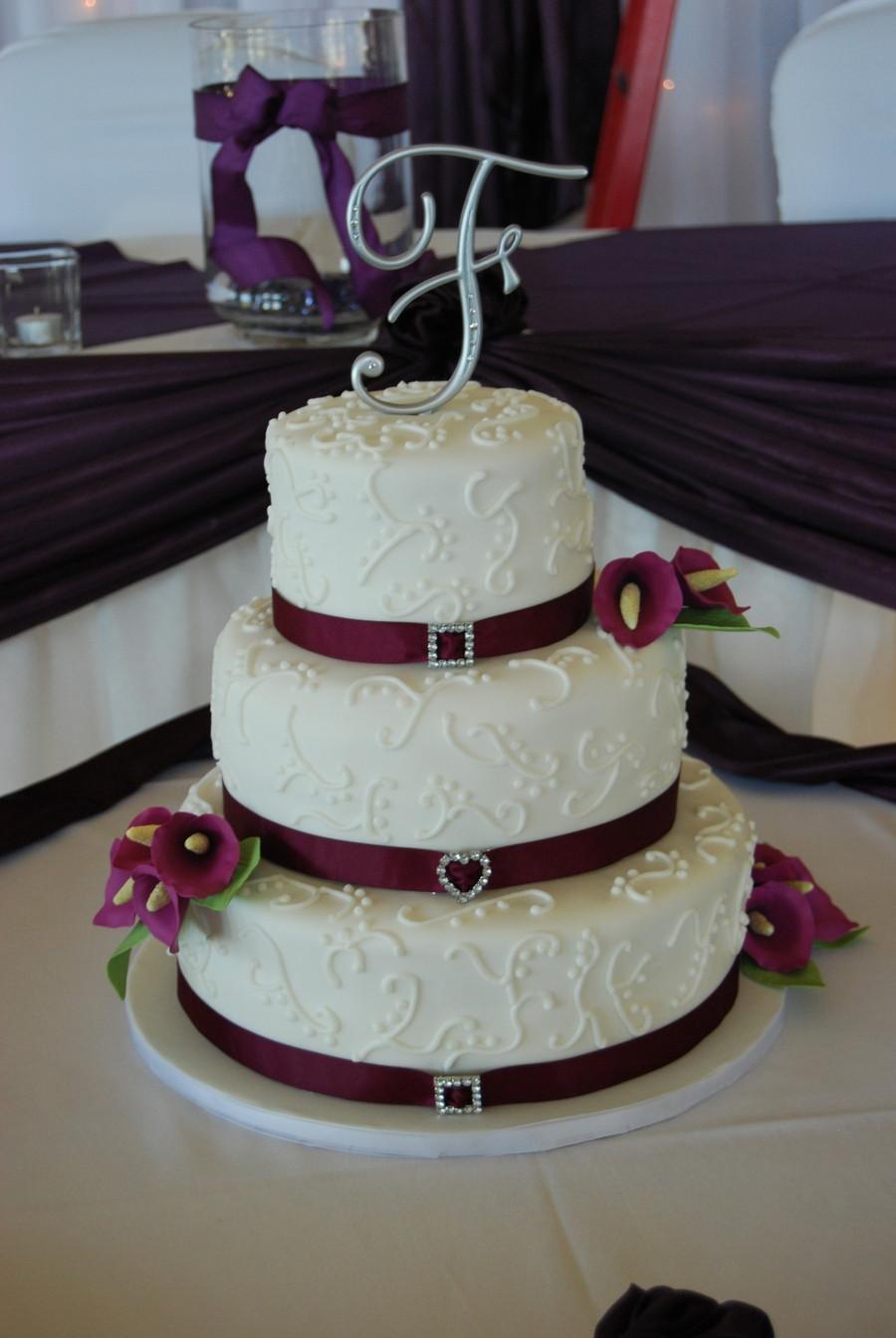 Calla Lilies Wedding Cakes  Calla Lily Wedding Cake CakeCentral