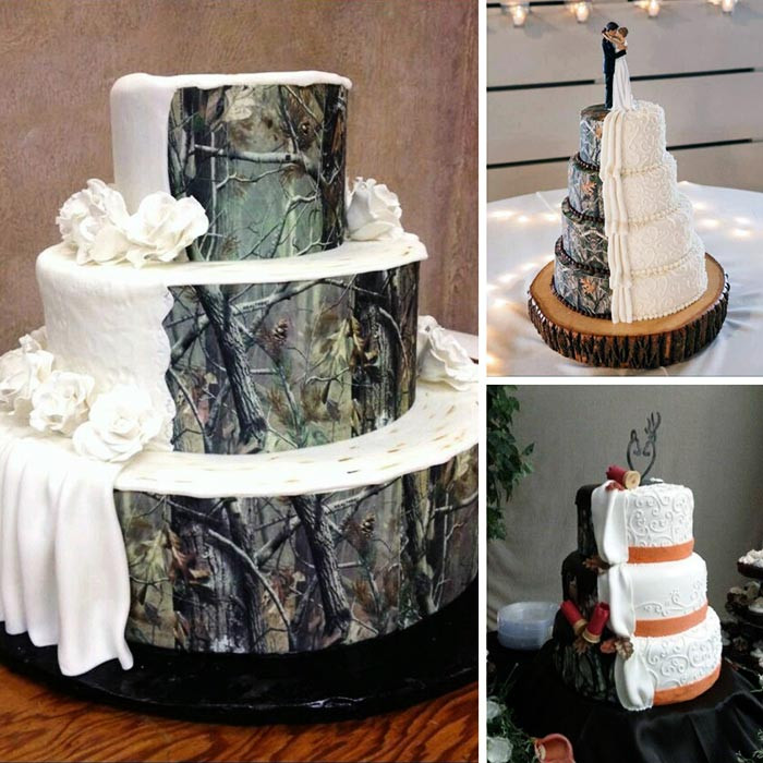 Camouflage Wedding Cakes  You had me at Camo