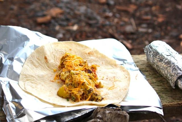 Camping Breakfast Burritos  Campfire Breakfast Burritos Alaska from Scratch