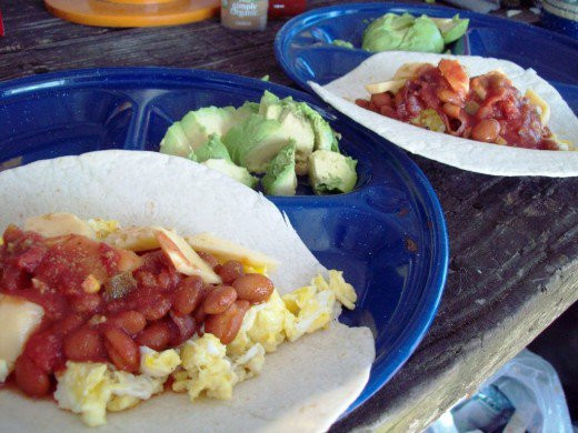Camping Breakfast Burritos  Camping Recipes – Gourmet Dutch Oven Grill and Healthy