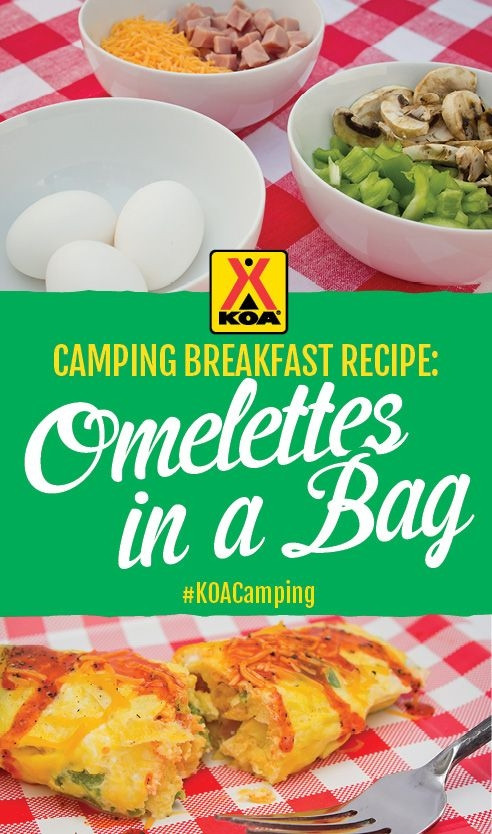 Camping Breakfast Recipes  Camping Breakfast Recipe Omelettes in a Bag