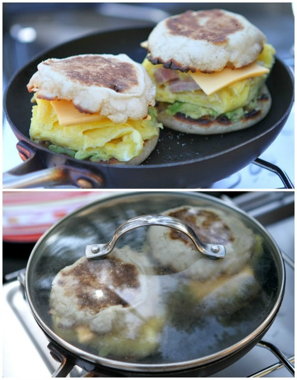 Camping Breakfast Recipes  Camping Breakfast Sandwiches Recipe Girl