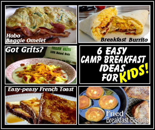 Camping Breakfast Recipes  6 Easy Camping Breakfast Ideas for Kids