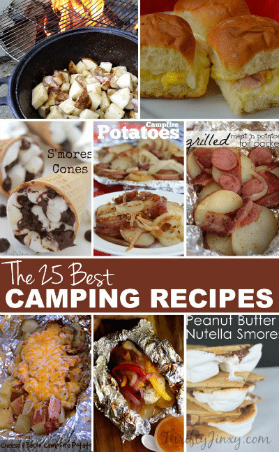 Camping Dinner Recipes  25 Best Camping Recipes Thrifty Jinxy