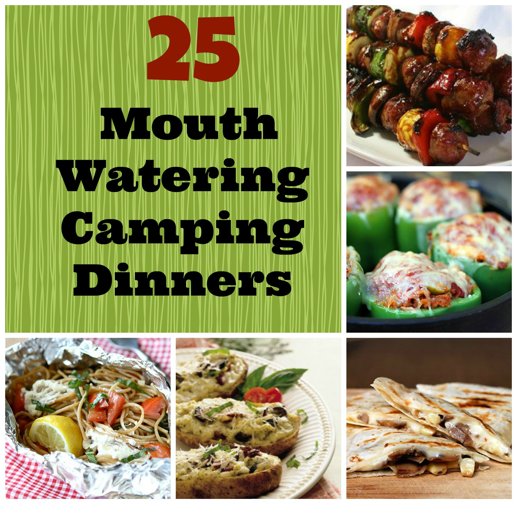 Camping Dinner Recipes  25 Mouth Watering Camping Dinners Bring The Kids