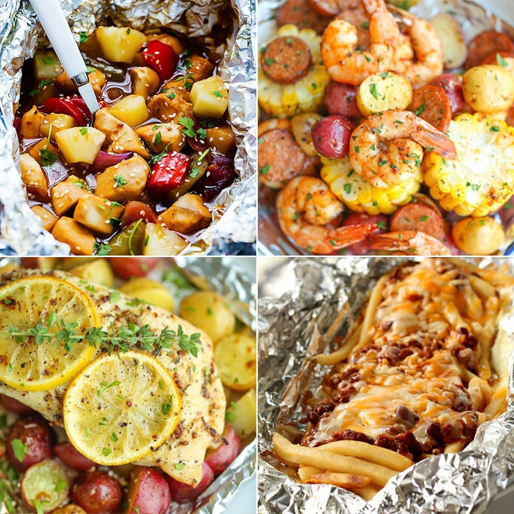 Camping Dinner Recipes  Tinfoil Dinner Camping Recipes