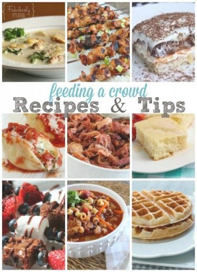 Camping Dinners For A Crowd  Feeding a Crowd Menu Ideas and Tips
