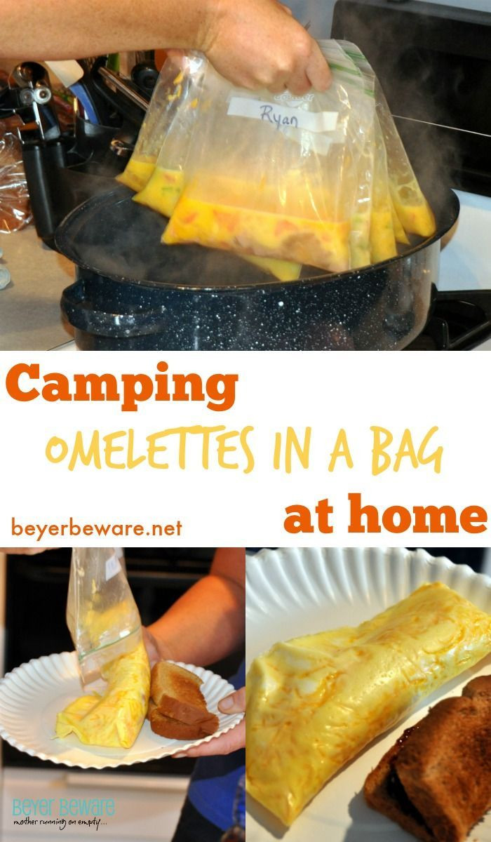 Camping Dinners For A Crowd  11 best images about Eggs And Breakfast on Pinterest