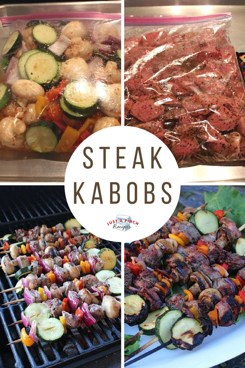 Camping Dinners For Two  Steak Kabobs Recipe