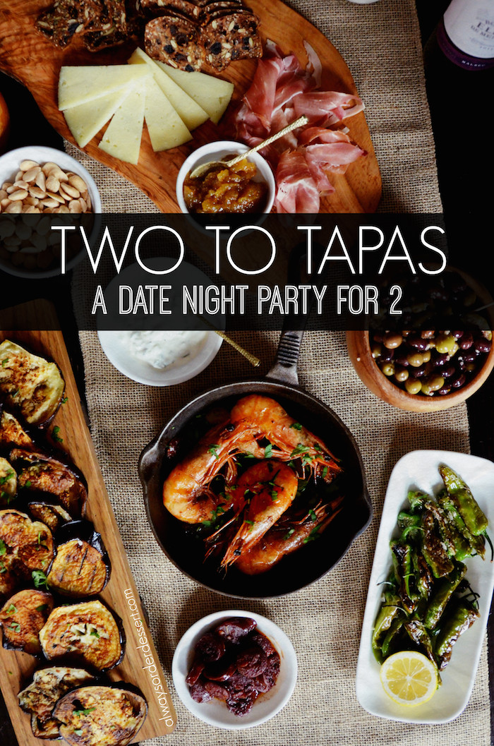 Camping Dinners For Two  A Date Night Tapas Party