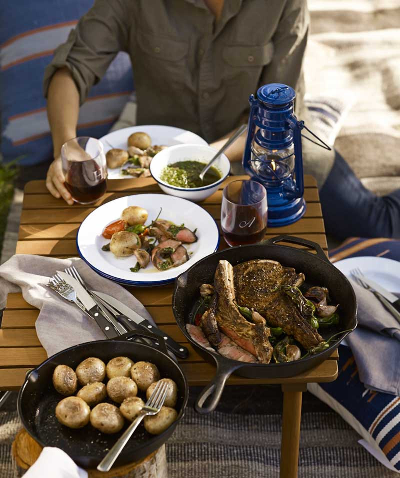 Camping Dinners For Two  Party Planner Summer Campfire Feast