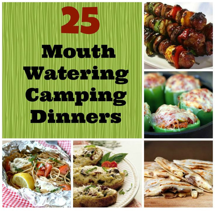 Camping Dinners For Two  25 Mouth Watering Camping Dinners Bring The Kids