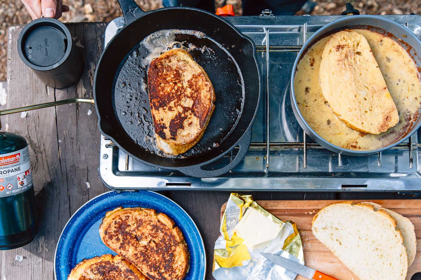 Camping French Toast  How to Make Perfect French Toast While Camping