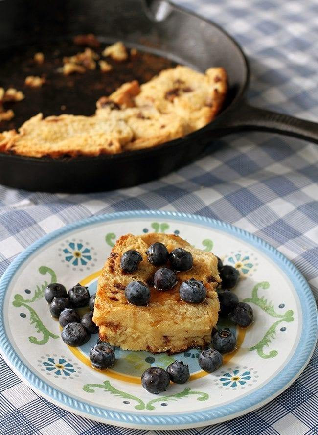 Camping French Toast  Camping Recipe Skillet Baked French Toast The Kitchen