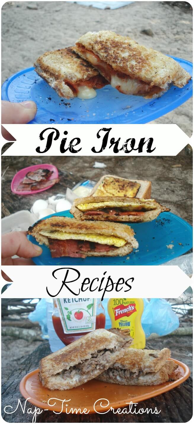 Camping Pie Iron Recipes  Best Pie Iron Recipes Nap time Creations
