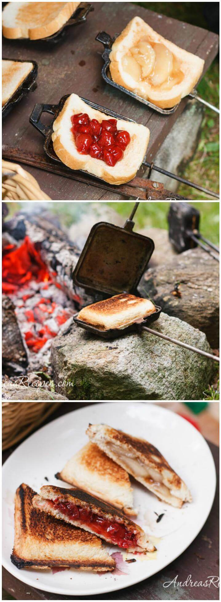 Camping Pie Iron Recipes  20 Best & Easy To Make Pie Iron Recipes Page 3 of 3