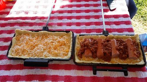 Camping Pie Iron Recipes  pudgy pie iron recipes