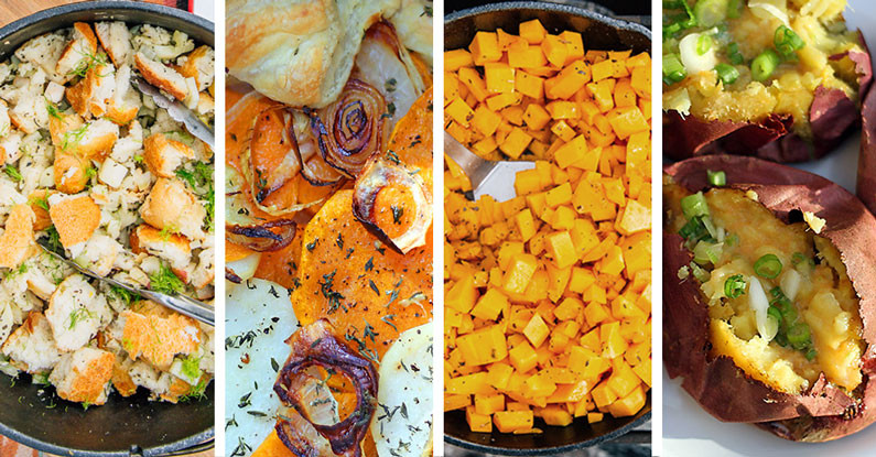 Camping Side Dishes  A Camping Thanksgiving Menu Dirty Gourmet