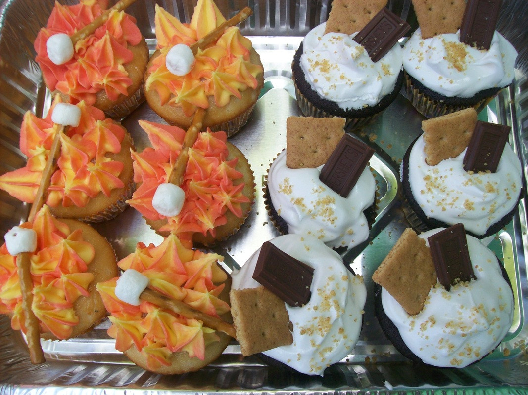 Camping Themed Cupcakes  Cupcakes Lily B s Cupcakes