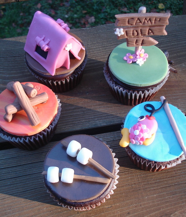 Camping Themed Cupcakes  Top Camping Cakes CakeCentral