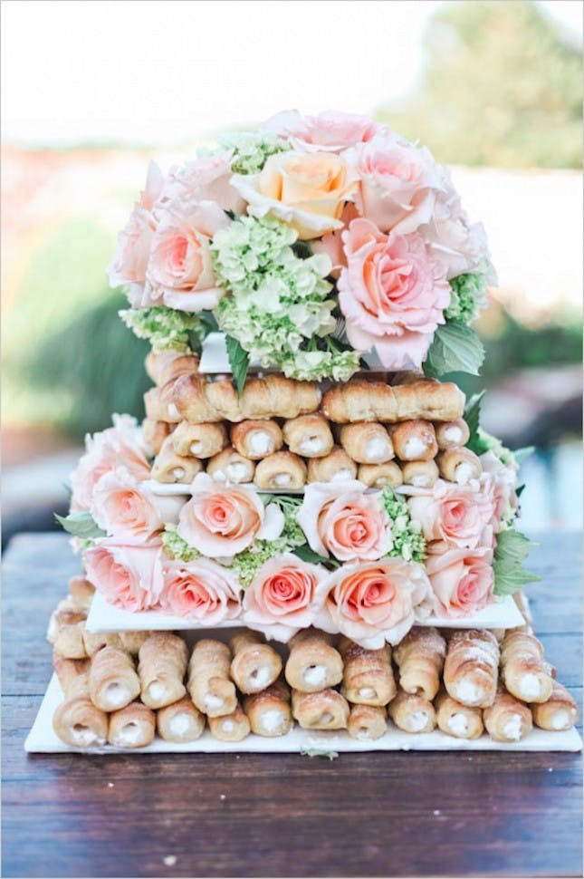 Cannoli Wedding Cakes  13 Alternative Wedding Cake Ideas