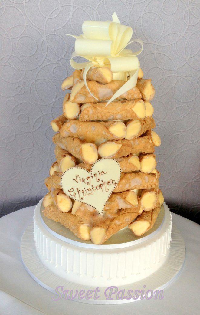 Cannoli Wedding Cakes  44 best images about Cake on Pinterest