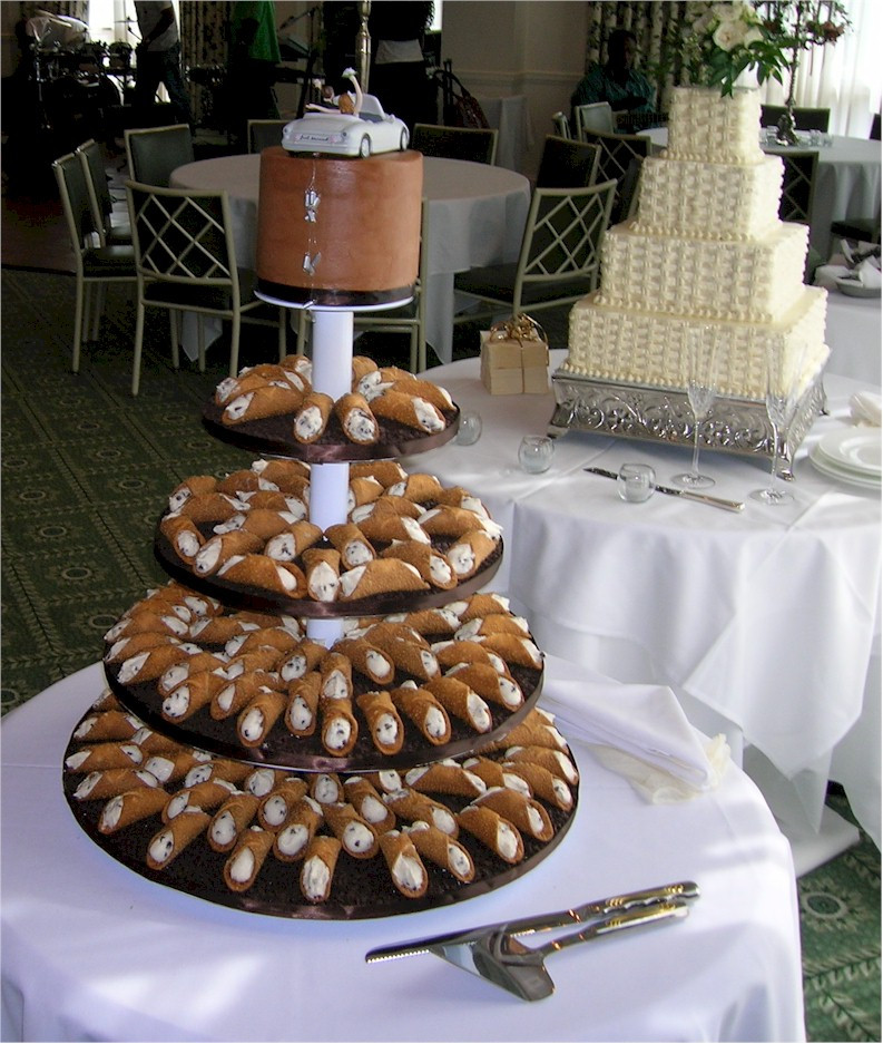 Cannoli Wedding Cakes  Cup a Dee Cakes Blog Wedding Alternative The Cannoli Tree