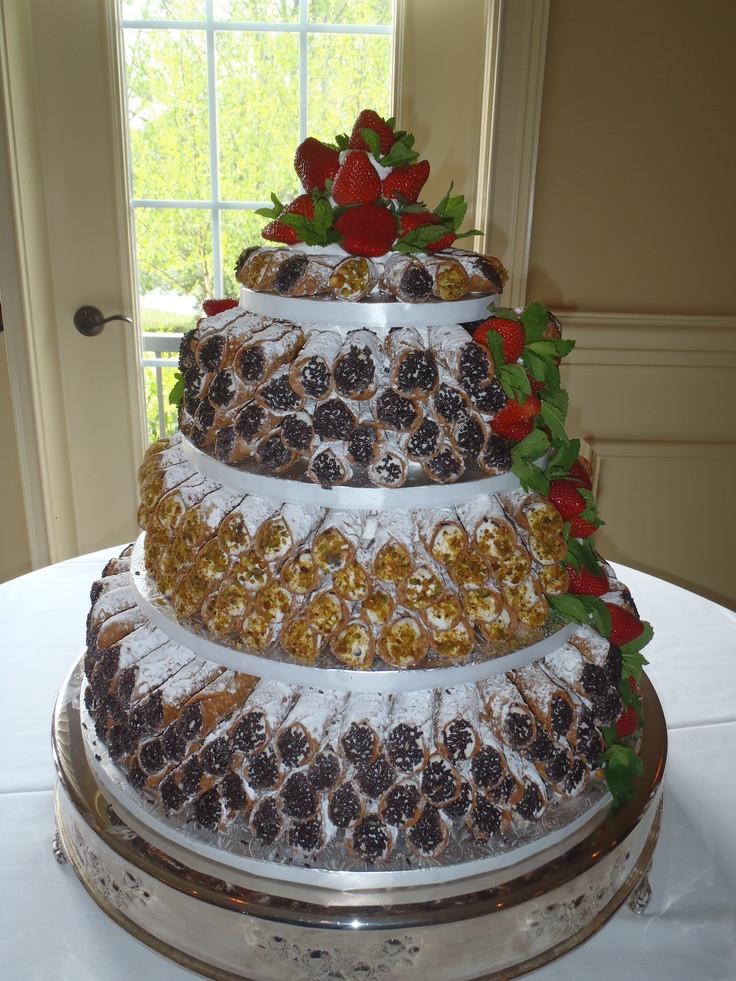 Cannoli Wedding Cakes  Alternative Wedding Cakes