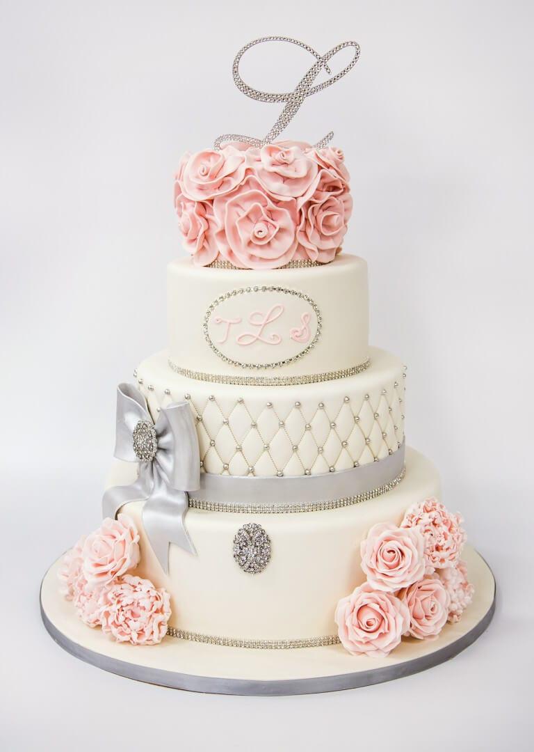 Carlo'S Bakery Wedding Cakes  NJ Weddings Carlos Bakery White Wedding Cake