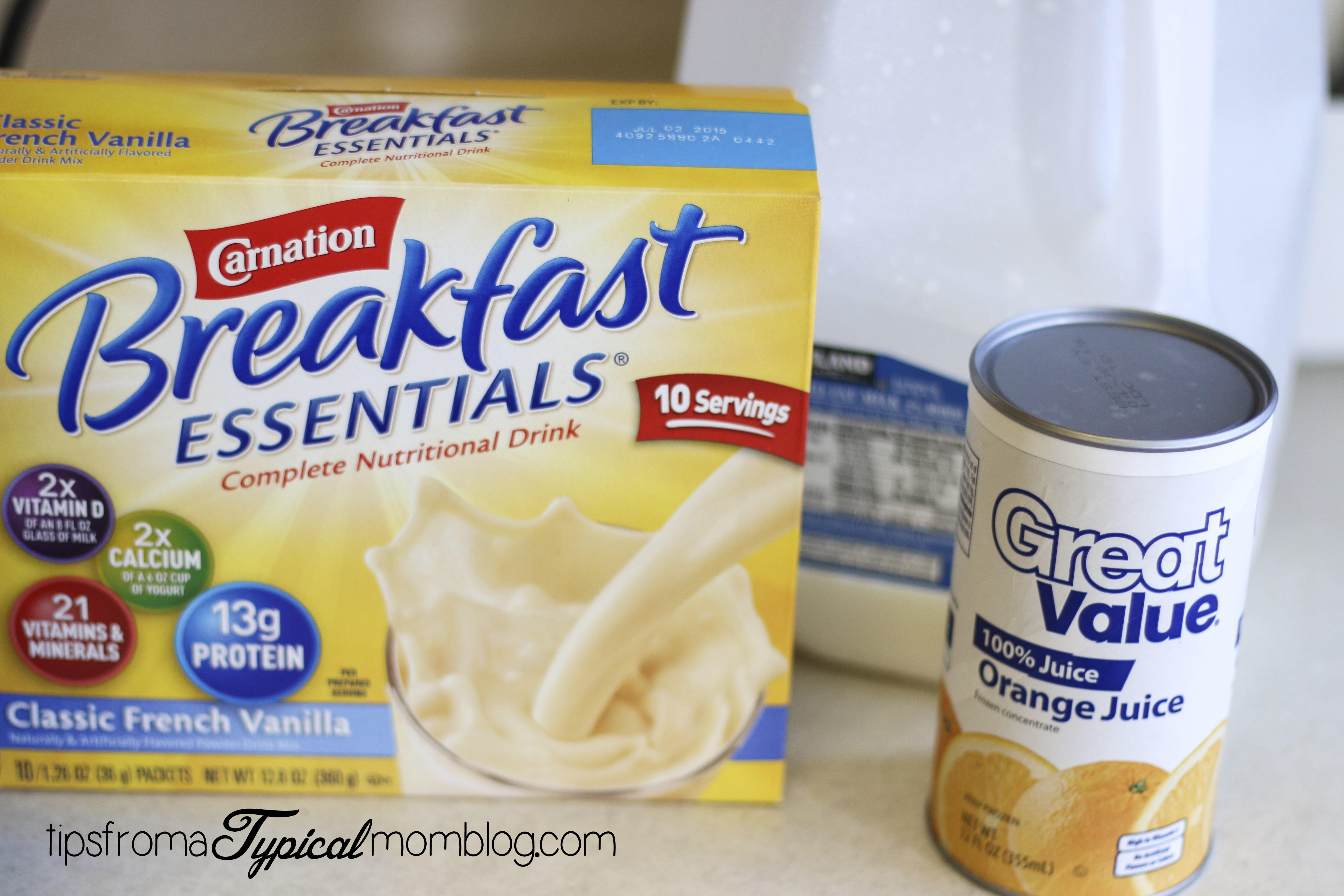 Carnation Breakfast Essentials Healthy 20 Best Ideas Healthy Breakfast orange Julius Smoothie