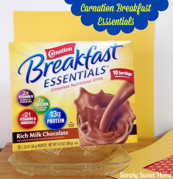 Carnation Breakfast Essentials Healthy  Two Smoothie Recipes with Carnation BreakfastEssentials