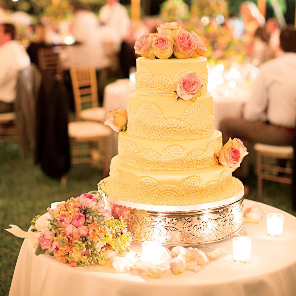 Carribean Wedding Cakes  Caribbean Wedding by the Sea Coastal Living