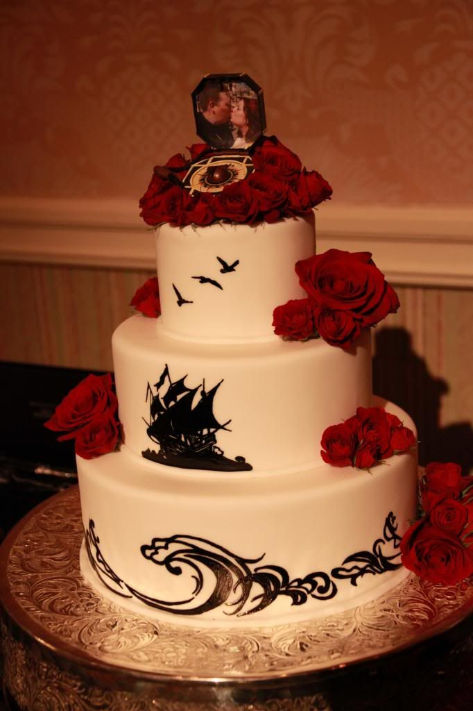 Carribean Wedding Cakes  Pirates of the Caribbean Style Inspiration – Ceremony and