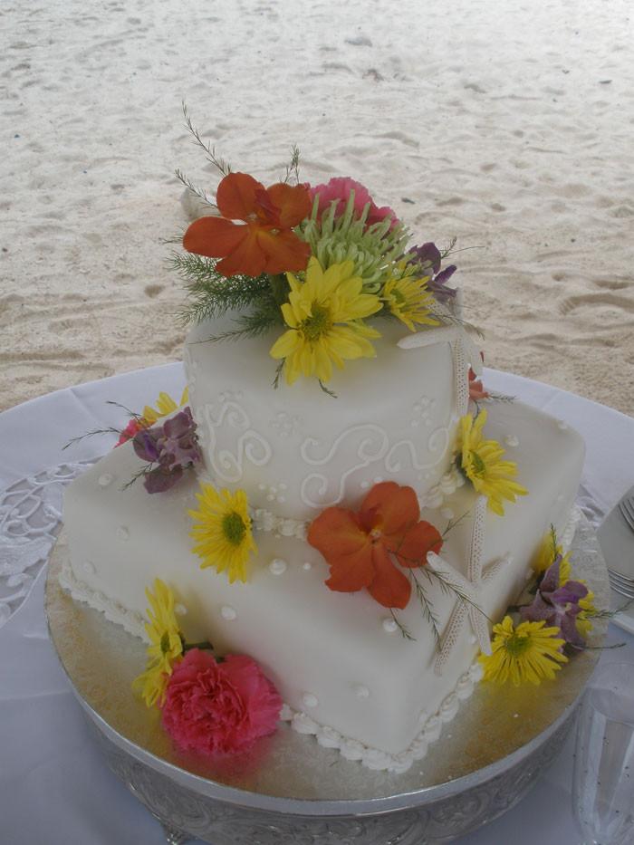 Carribean Wedding Cakes  Caribbean Wedding Cake