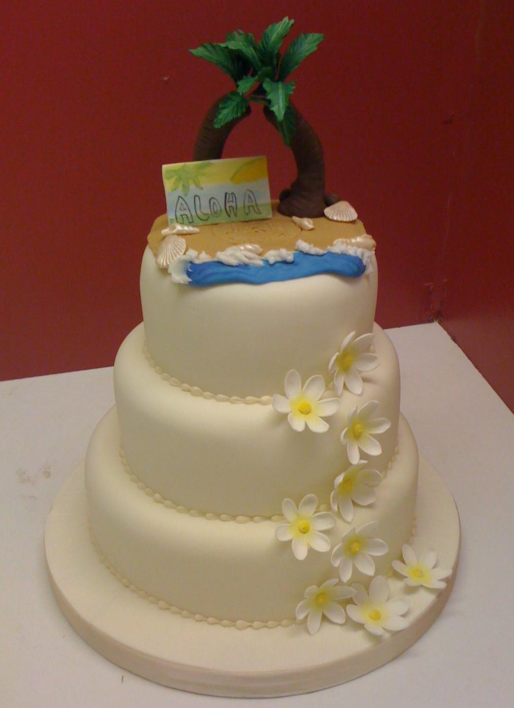 Carribean Wedding Cakes  Unfor able Wedding With Caribbean wedding cakes idea