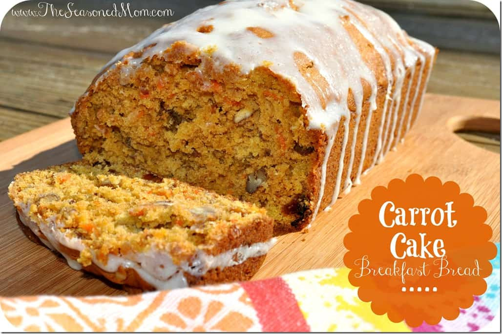 Carrot Bread Healthy  Carrot Cake Breakfast Bread The Seasoned Mom