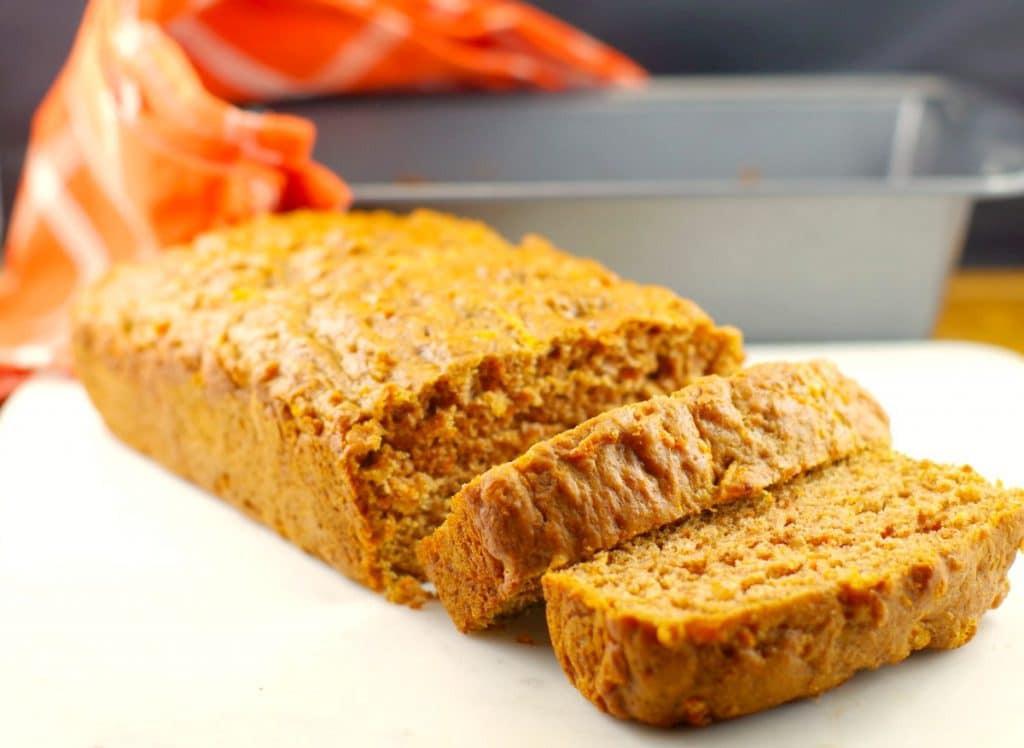 Carrot Bread Healthy  Healthy Carrot Loaf Recipe breakfast idea Food Meanderings