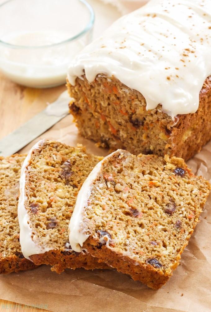 Carrot Bread Healthy  Oatmeal Carrot Cake Bread Recipe Runner