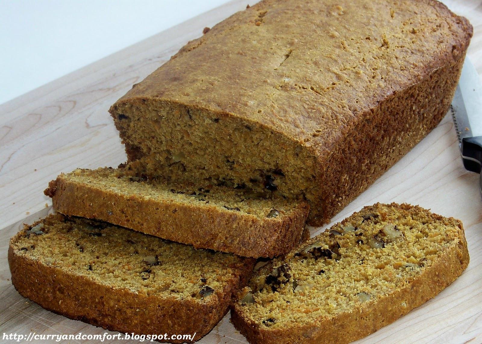 Carrot Bread Healthy  Kitchen Simmer Healthy Carrot Bread