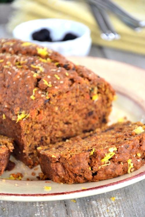 Carrot Bread Healthy  gluten free bread recipe