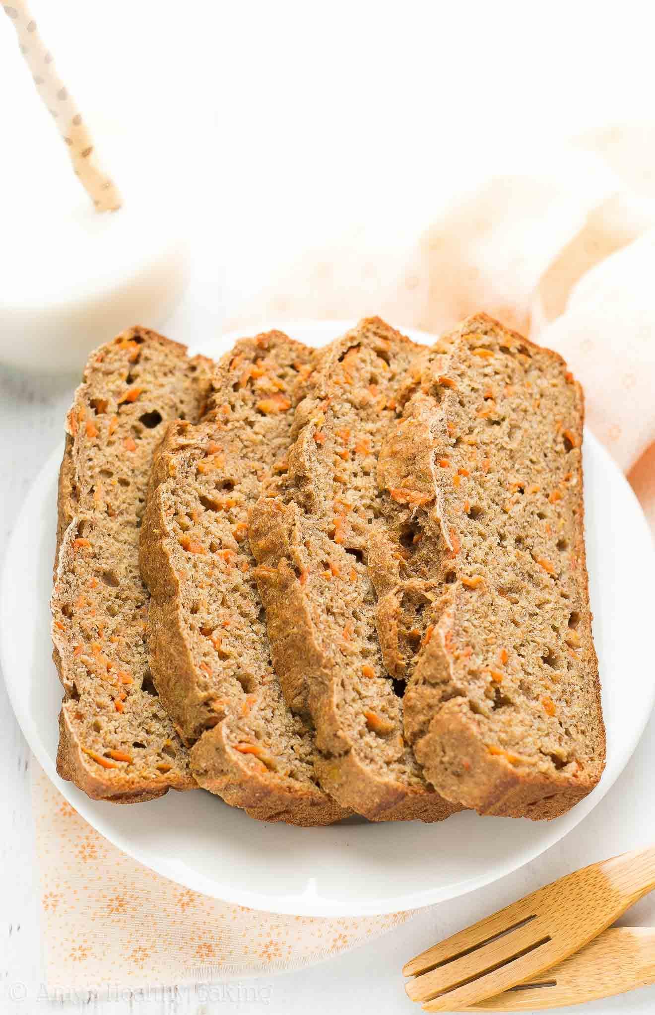 Carrot Bread Healthy  Healthy Carrot Cake Banana Bread